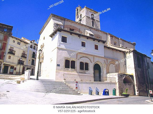 San Miguel church. Cuellar, Segovia province, Castilla Leon, Spain