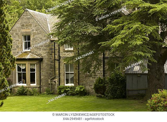A Stone House near Drumin Castle, Cairngorms Mountains, Scotland, UK