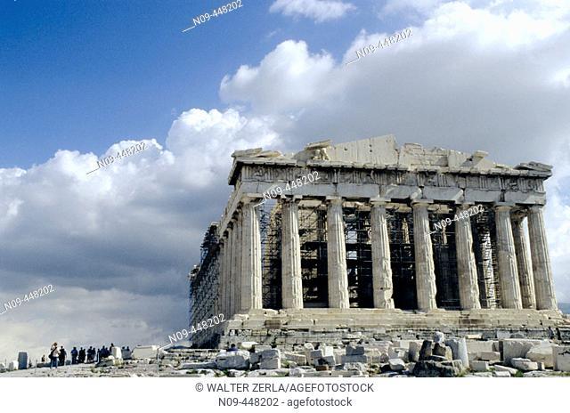 Parthenon. Acropolis. Athens. Greece