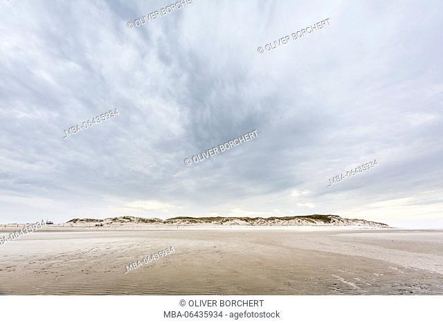Germany, North Germany, Amrum, Odde, beach, extensive, heaven