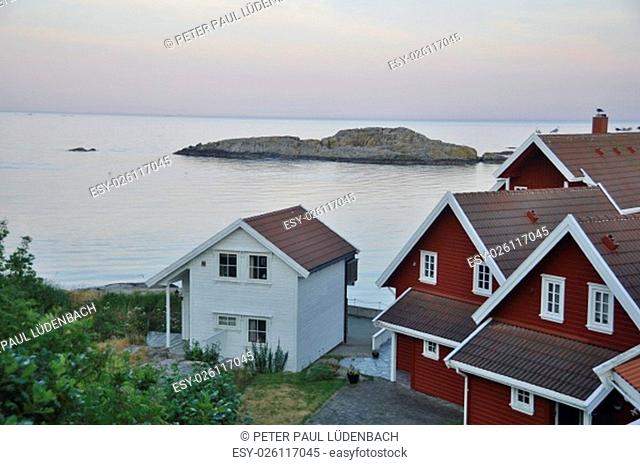 the site lindesnes in norway is the southernmost punk with its lighthouse