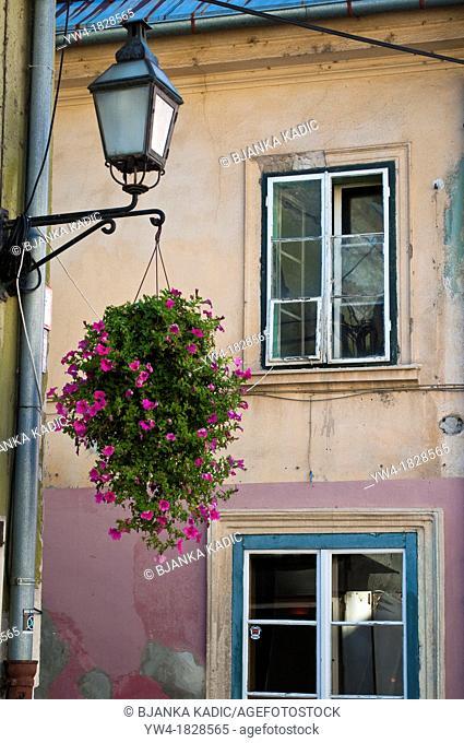 House in Upper Square, Ljubljana, Slovenia