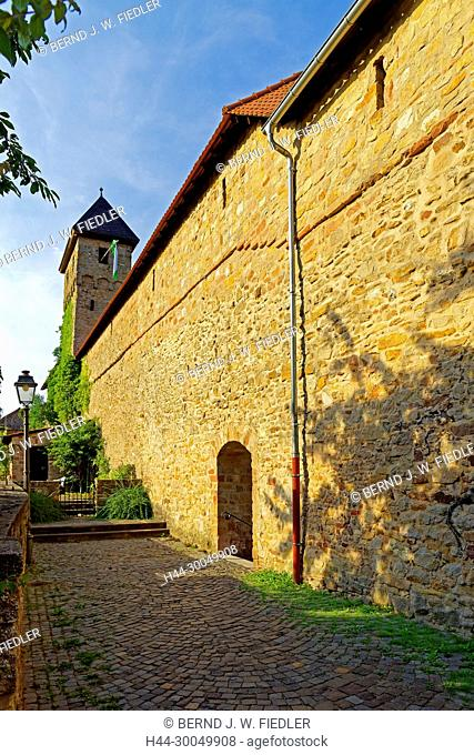 Town wall, in 1366 - in 1388, Kirchheimbolanden Germany