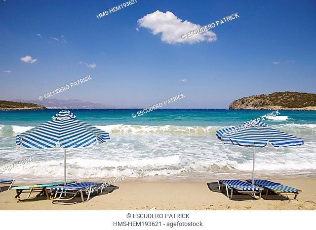 Greece, Crete, Istro, Golden Beach