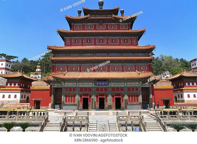 Punin temple (1755), Chengde, China