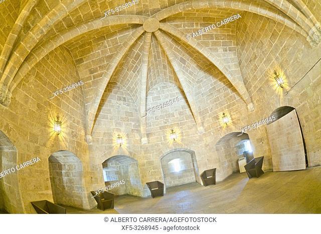 Serranos Gate, Serranos Tower, Torre de Serranos, Valencia, Valencia Comunity, Spain, Europe