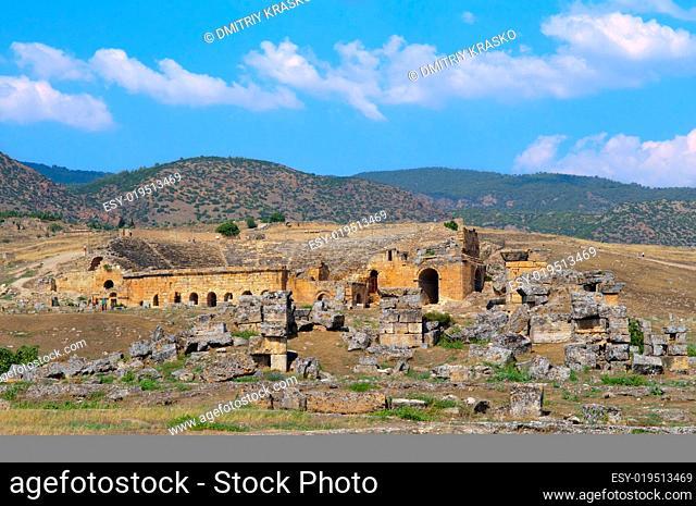 Hierapolis Amphitheatre. Turkey