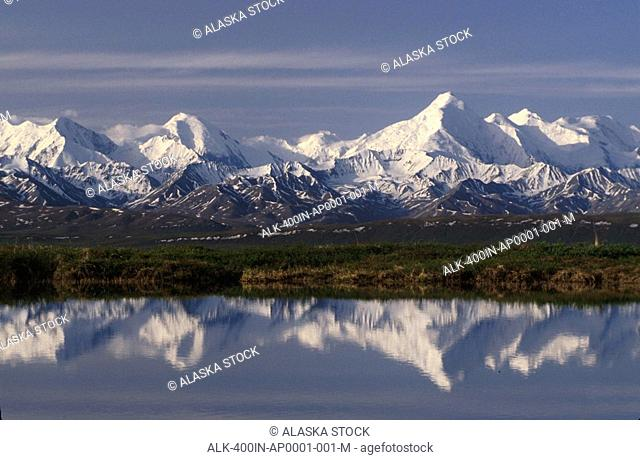 Mt Brooks Alaska Range Interior Denali NP AK Fall