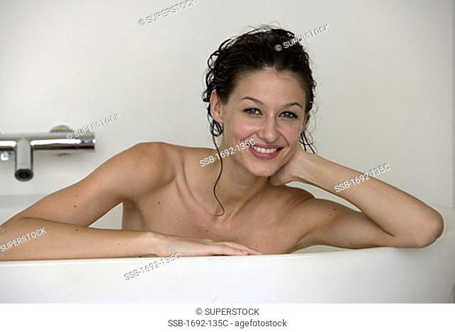 Pity, that naked young woman bathtub right!