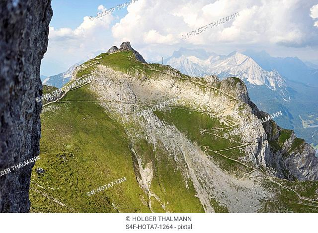 Alpen, Karwendel, Berglandschaft