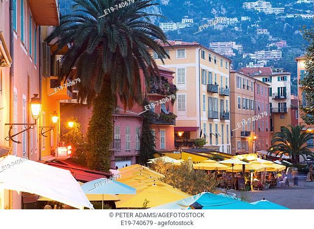 Villefranche-sur-Mer, French Riviera, Côte d'Azur, France