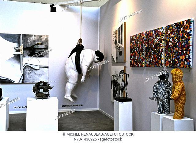 The Paris art fair, just art, at the Grand Palais from March 31 to April 3, 2011, International Exhibition of Modern Art, Paris, France