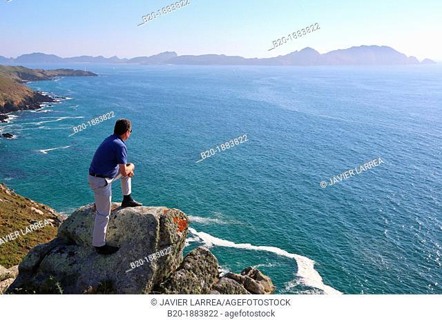 Maritime Terrestrial National Park of the Atlantic Islands, Islas cies, Cabo Home, Cangas, Pontevedra province, Galicia, Spain