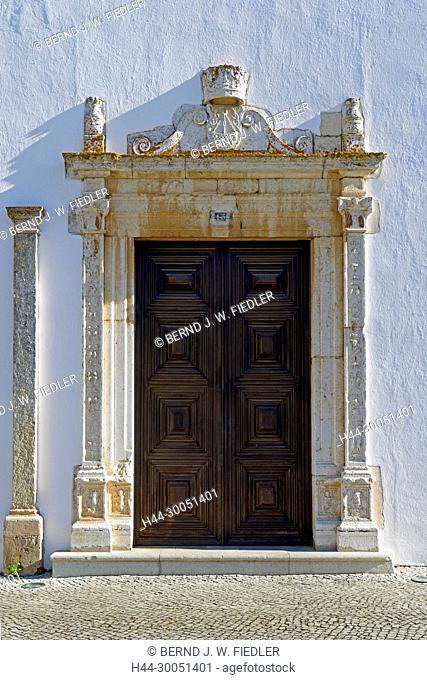 Museu Arqueologico, detail, door, Faro Portugal