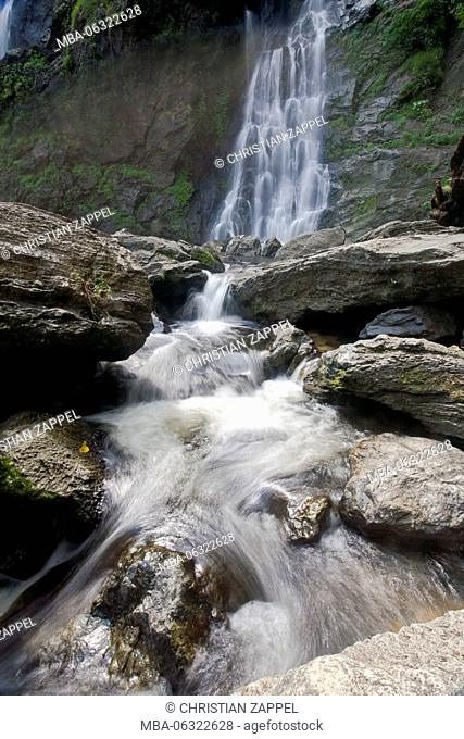 Klong Lan Waterfall, Mae Wong National Park, Kamphaeng Phet, Thailand