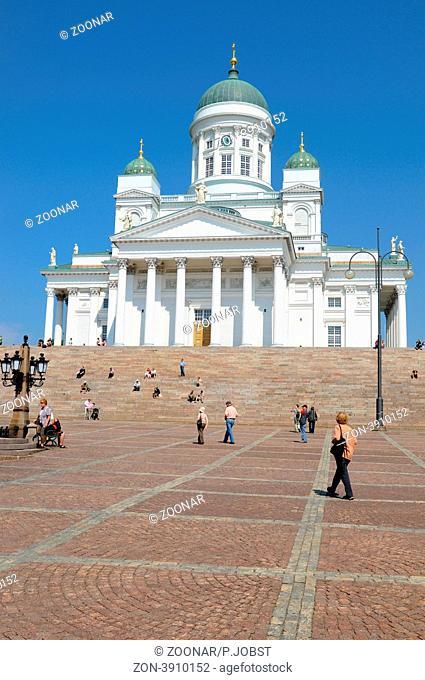 Helsinki Die Kathedrale von Helsinki wurde in den Jahren 1830 bis 1852 errichtet / Helsinki Cathedral was built 1830-1852
