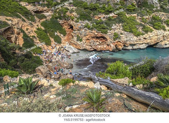 Calo des Moro, Mallorca, Balearic Islands, Spain, Europe