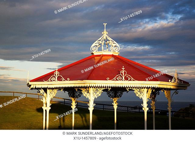 Bandstand on The Butts St Andrews Fife Scotland