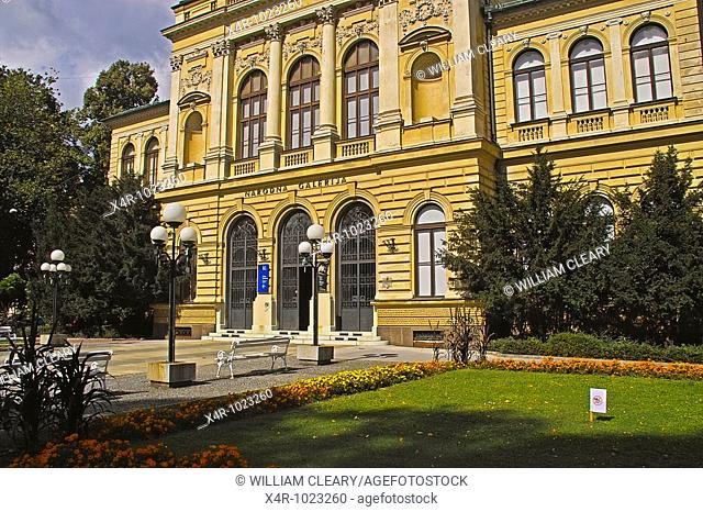 A building in the city of Ljubljana, Capital city of Slovenia