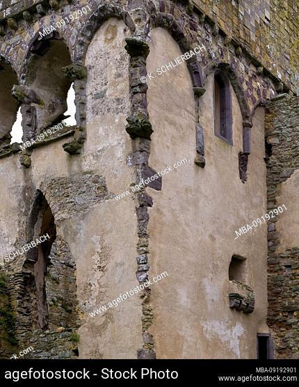Europe, UK, UK, Wales, St Davids Convent, Bishop's Palace, Pembrokeshire