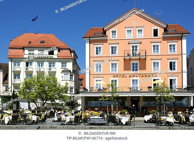 Deutschland, Bayern, Lindau am Bodensee, Germany, Bavaria, Lindau at Lake Constance Germany Bavaria