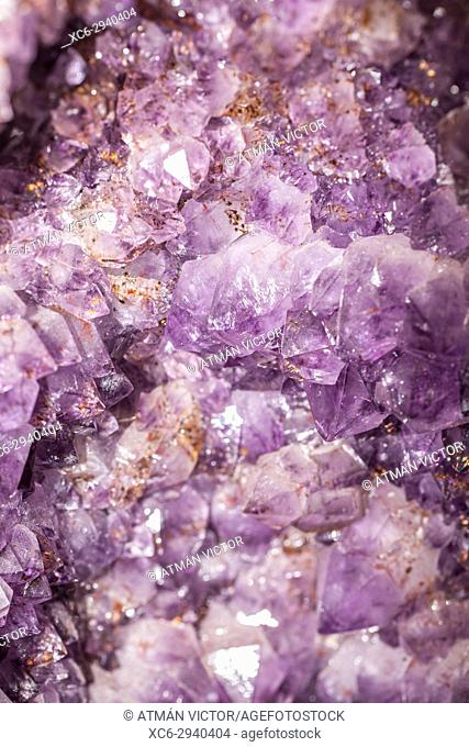 Amethyst cluster