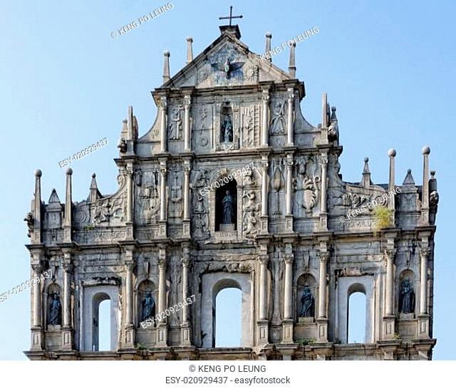 Cathedral of Saint Paul in Macao (Sao Paulo Church)