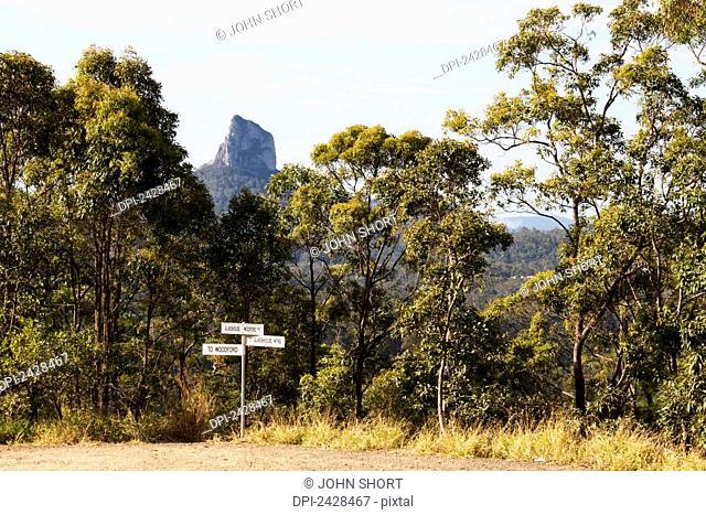 Glass House mountains; Queensland, Australia
