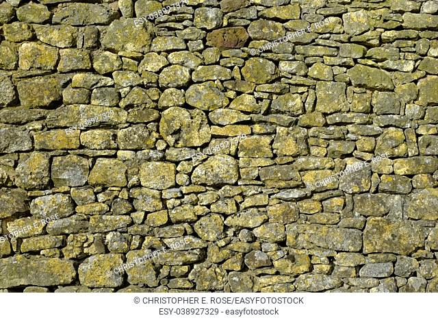 Old rubble stone wall
