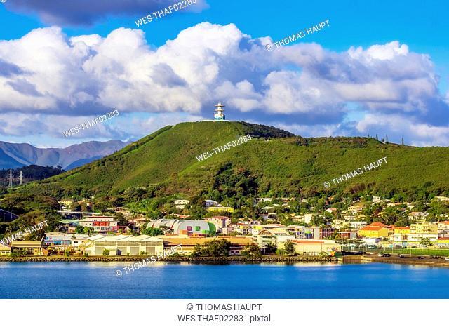 New Caledonia, Noumea, nickel industry