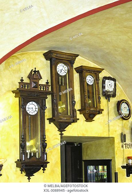 Cafe of Prague. Czech Republic