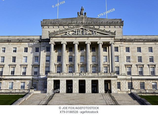 Parliament buildings stormont belfast northern ireland