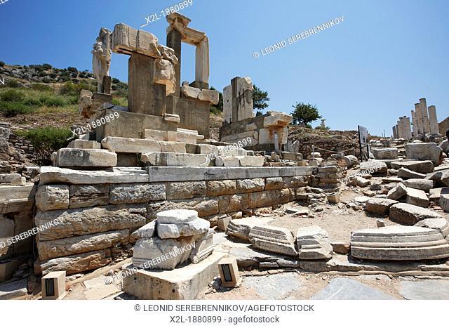 The Memmius Monument  Ephesus Archaeological Site  Izmir province, Turkey