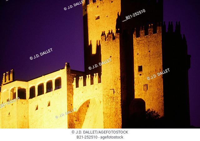 Moorish castle. Vélez Blanco. Almería province. Spain