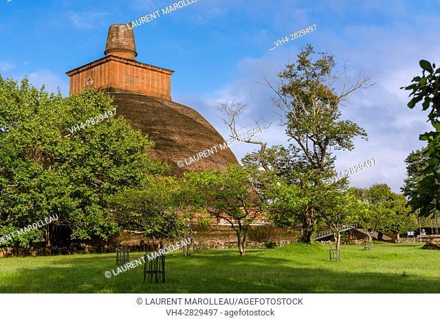Jetavanaramaya Stupa, Sacred City of Anuradhapura, North Central Province, Sri Lanka, Asia