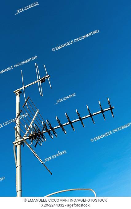 Antenna, Eivissa, Ibiza, Balearic Islands, Spain, Mediterranean, Europe