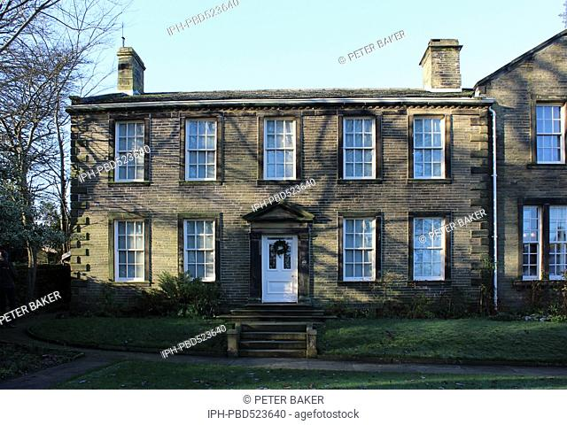 England West Yorkshire Haworth Home of the Bronte sisters THe Bronte Parsonage Museum