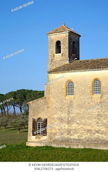 Lourmarin Temple, Provence, France, Europe