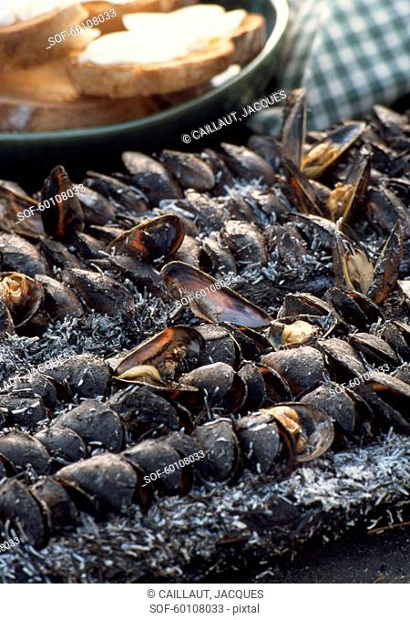 Mussel éclade