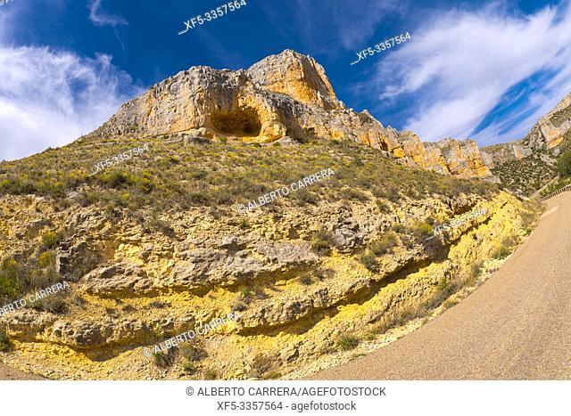 Hoces de Río Riaza Natural Park, Riaza River Gorges, Segovia, Castilla y León, Spain, Europe