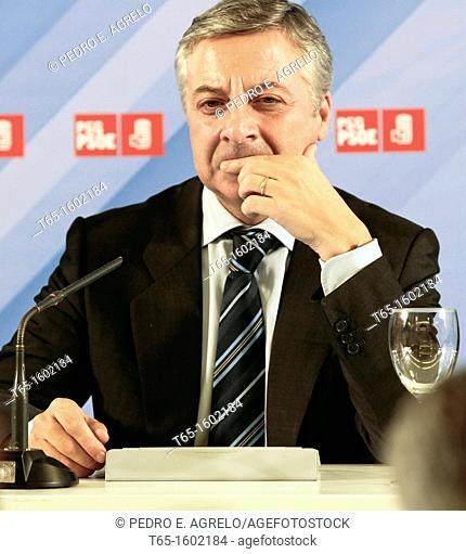 José Blanco López (Palas de Rey, Lugo, February 6, 1962), known as Jose or Pepe Blanco, is a Spanish socialist politician