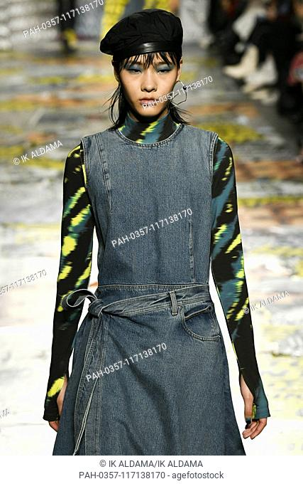 House of Holland runway show during London Fashion Week, AW19, Autumn Winter 2019 collection - London, UK 16/02/2019   usage worldwide