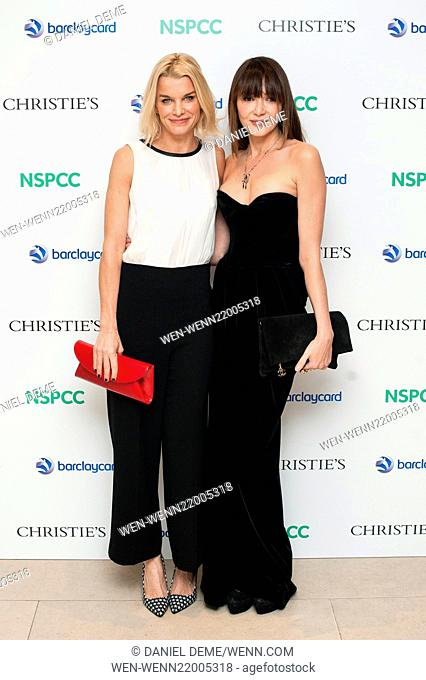 Paddington Trail auction held at Christie's in London - Arrivals Featuring: Lady Julie Montagu, Annabelle Neilson Where: London