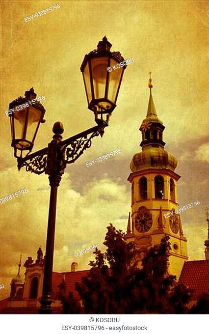 Loreta, a place of pilgrimage in Prague, Czech Republic