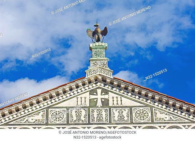 San Miniato al Monte, Florence, San Miniato al Monte church, Tuscany  Italy  Europe