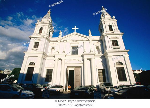 Cathedral 'Guadalupe' in Ponce. Puerto Rico