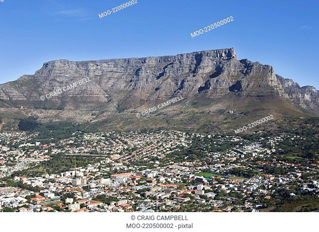 Cape Town and Table mountain South Africa