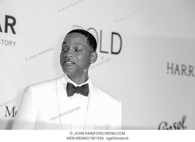 Arrivals for the 24th annual amfAR fundraiser during the Cannes Film Festival at the Hotel Eden Roc in Cap D'Antibes Featuring: Will Smith Where: Cap D Antibes