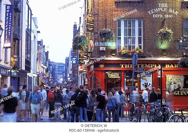 Pub The Temple Bar Temple Bar Dublin County Dublin Ireland