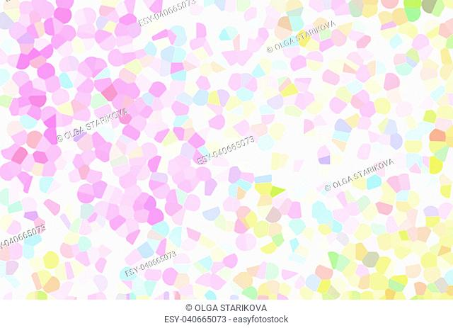 Abstract pastel soft colorful smooth blurred textured background off focus toned in pink and yellow color